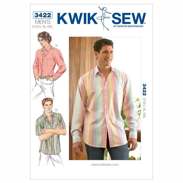 Herrenhemd, KwikSew 3422