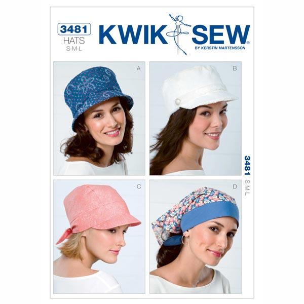 Hut | Bindetuch, KwikSew 3481 | S - L - Schnittmuster Accessoires ...
