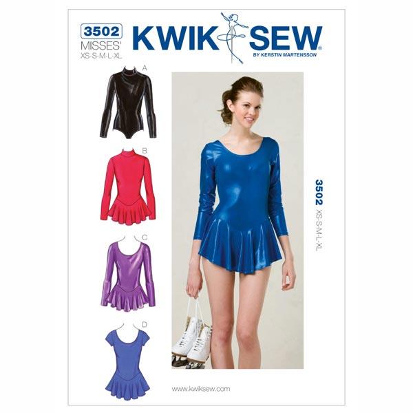 Body, KwikSew 3502 | XS - XL - Schnittmuster Sportbekleidung- stoffe.de