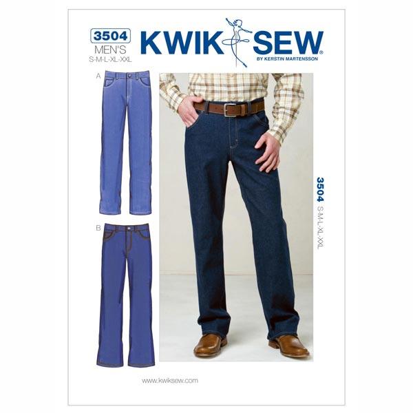 Herren-Jeans, KwikSew 3504 | S - XXL - Schnittmuster Accessoires ...