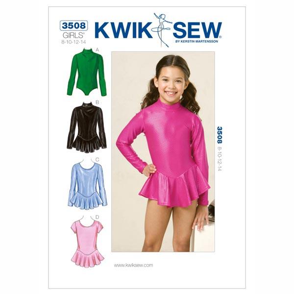 Schnittmuster für Kindertanzkleider von Kwik Sew