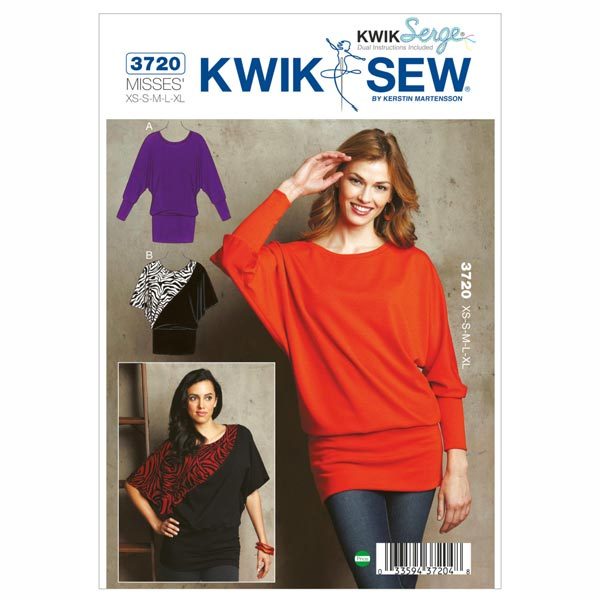 Pullover, KwikSew 3720
