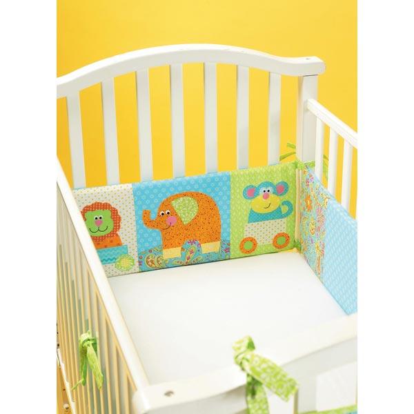 accessoires de lit b b kwiksew 4034 patrons de couture b b s enfants accessoires. Black Bedroom Furniture Sets. Home Design Ideas