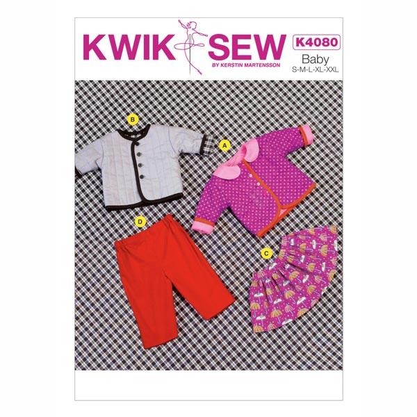 Kleiderkombi für Babys von Kwik Sew