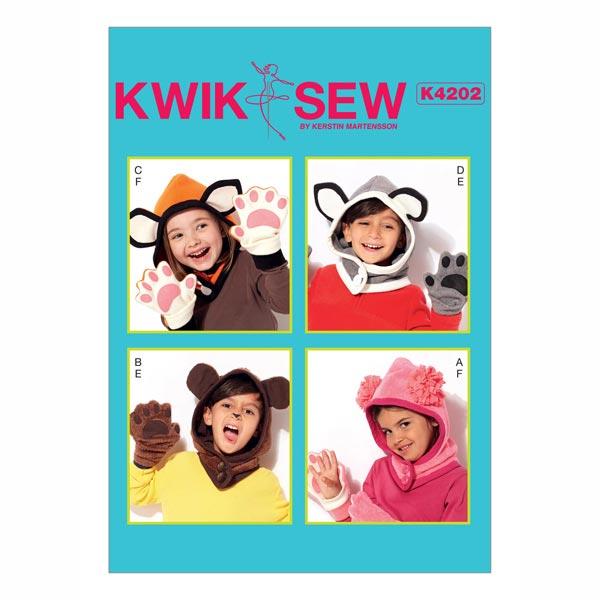 Schnittvorlagen Kinderaccessoires von Kwik Sew