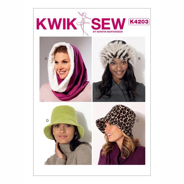 Hüte/Mützen/Accessoires, KwikSew 4203