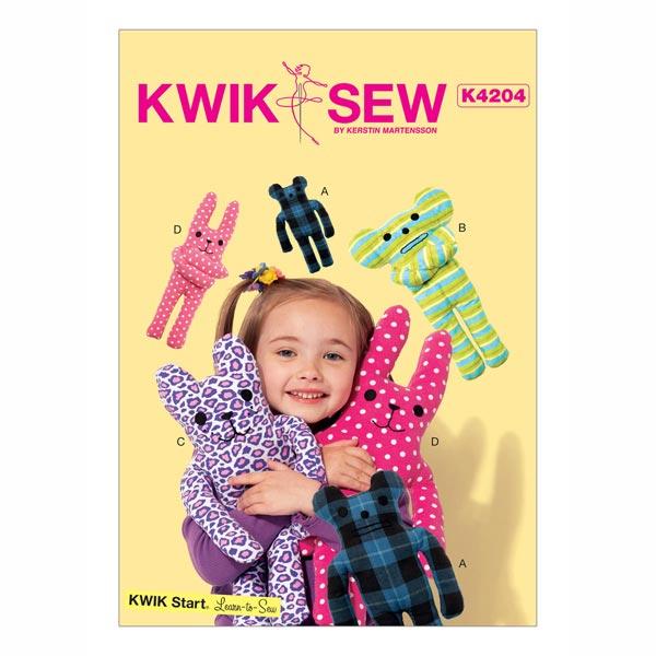 Plüschtiere, KwikSew 4204