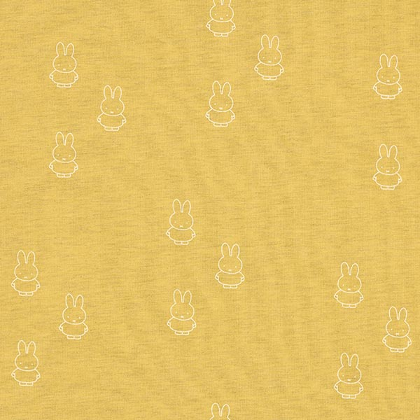 c03bec174b9 Jersey Bunny | Miffy Nijntje – ochre yellow - Cotton Jerseyfavorable buying  at our shop