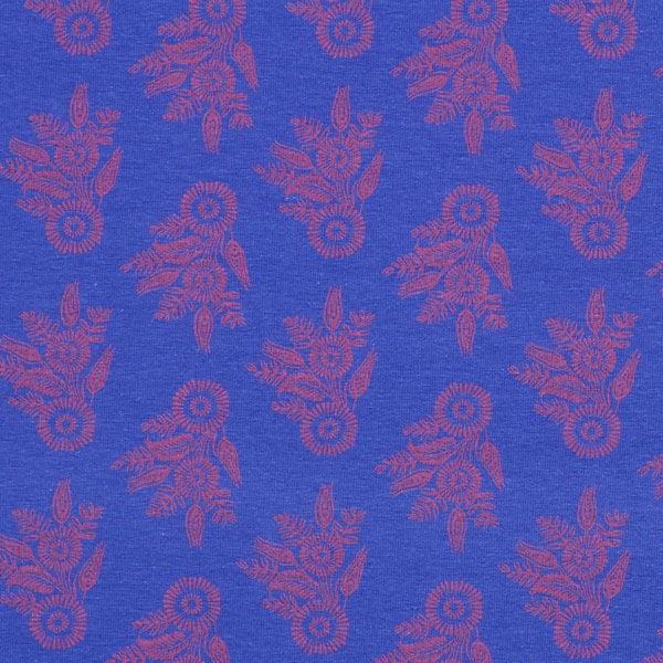 Jersey Indio Blume - königsblau