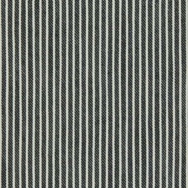 Stretch Denim Streifen 3 - dunkelgrün