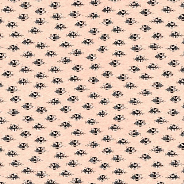 Sommersweat Glitzer Katzen 1 – rosa