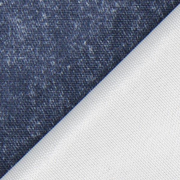dekostoff outdoor melange wasserfest marineblau wasserabweisende stoffe. Black Bedroom Furniture Sets. Home Design Ideas