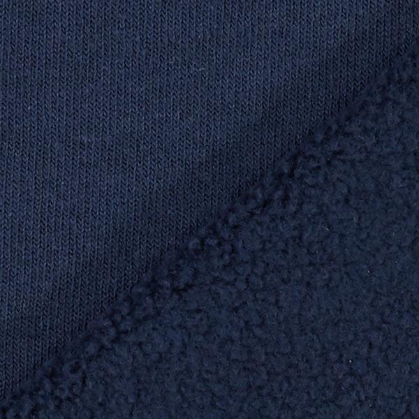 Marineblaues Baumwollfleece