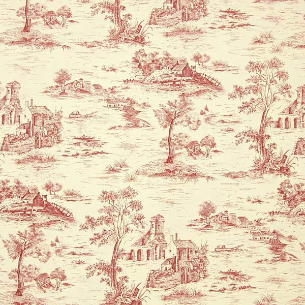 toile riviera 1 rot toile de jouy. Black Bedroom Furniture Sets. Home Design Ideas