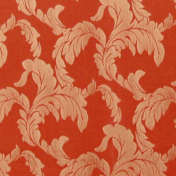 Möbelstoff Sofia Ornament – terracotta – Muster