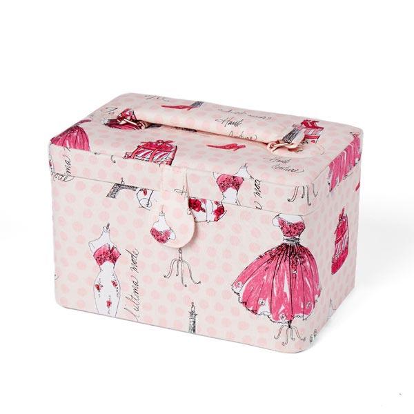 Bo te de couture paris princesse rose bo tes couture for Boite de couture enfant