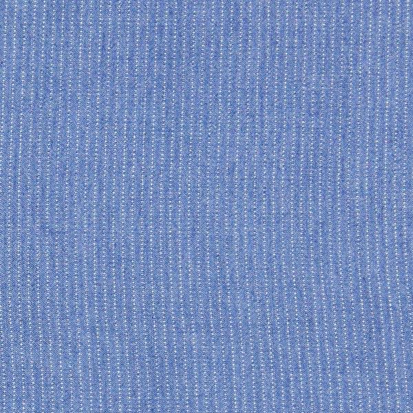 Navyfarbener Chambray im Jeanslook mit Streifen