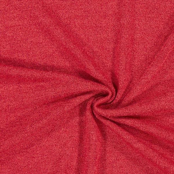 Strick Melange – rot – Muster