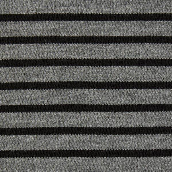 Strick Blockstreifen 1 – grau/schwarz – Muster