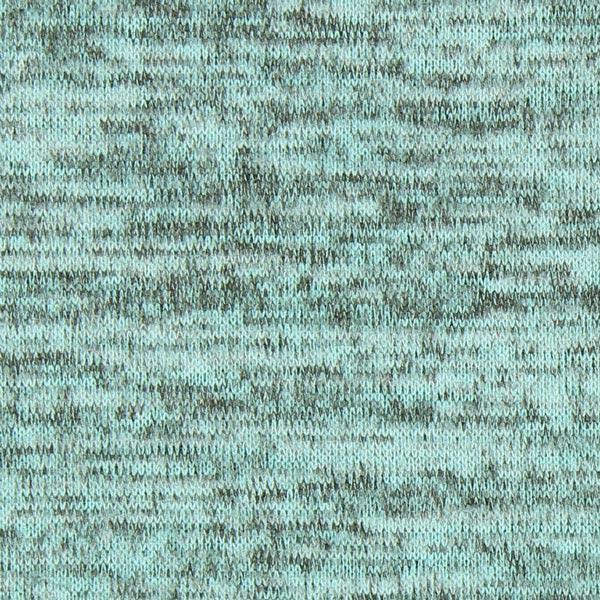 Strick Melange - türkisblau - Muster