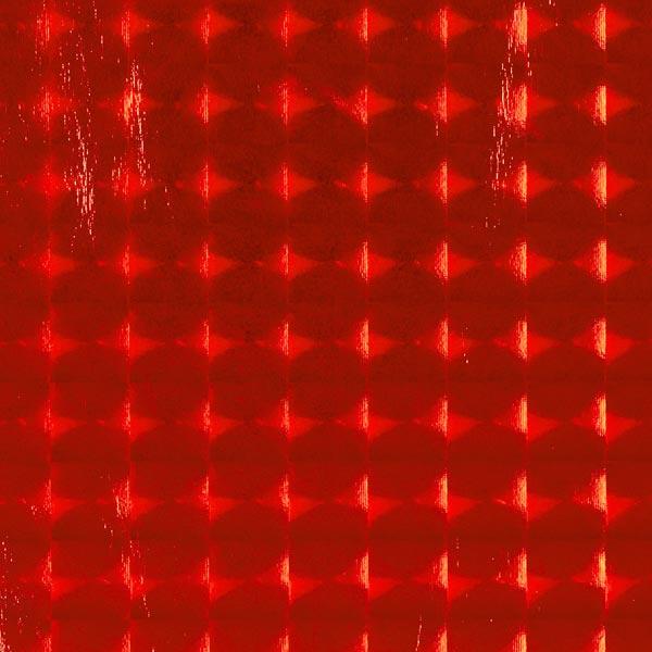 a9f757f5 Foliejersey hologram kvadratisk 18 x 18 mm – signalerød