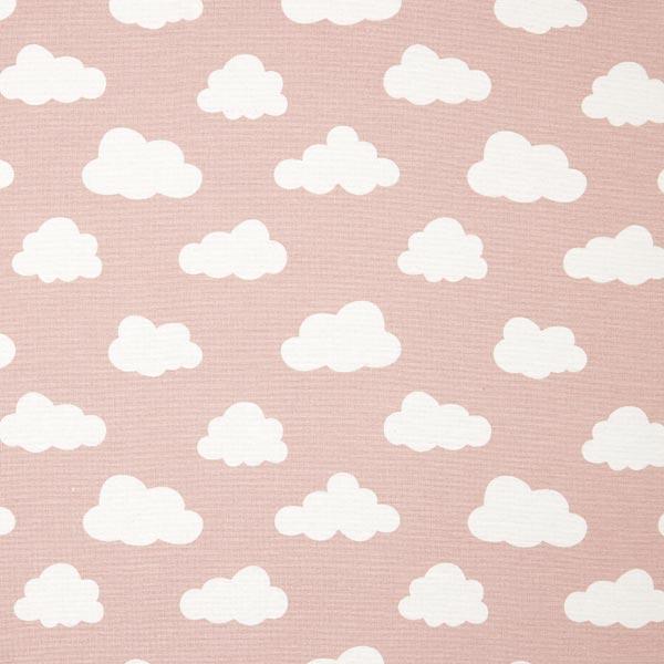 tissu de d coration nuage 1 vieux rose tissus pour coussins et plaids. Black Bedroom Furniture Sets. Home Design Ideas