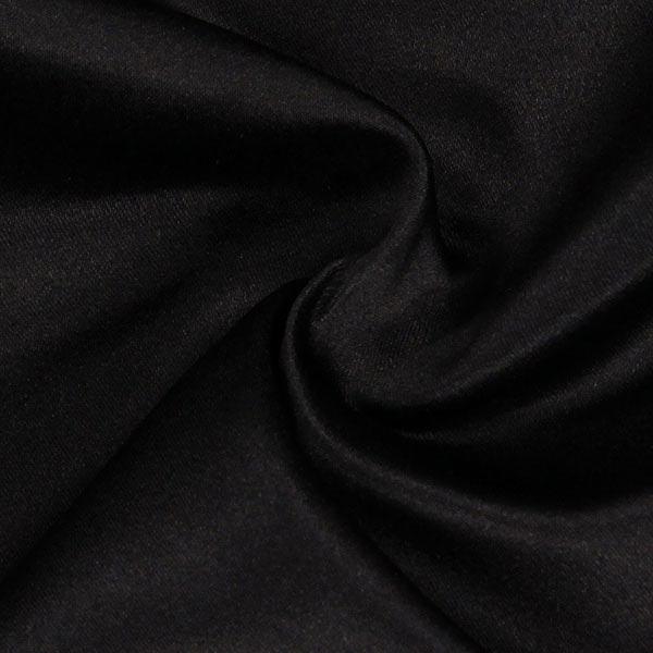Duchesse Satin 19 - schwarz - Muster