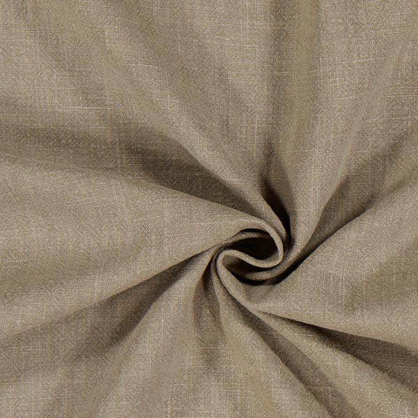 linnen stof – voorgewassen – olijf - linnen stoffen- stoffen