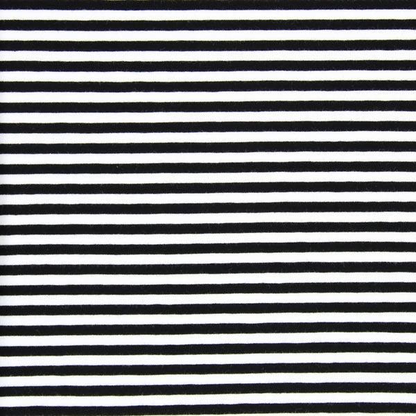 jersey rayures troites noir blanc tissus sweats capuche sweatshirts. Black Bedroom Furniture Sets. Home Design Ideas
