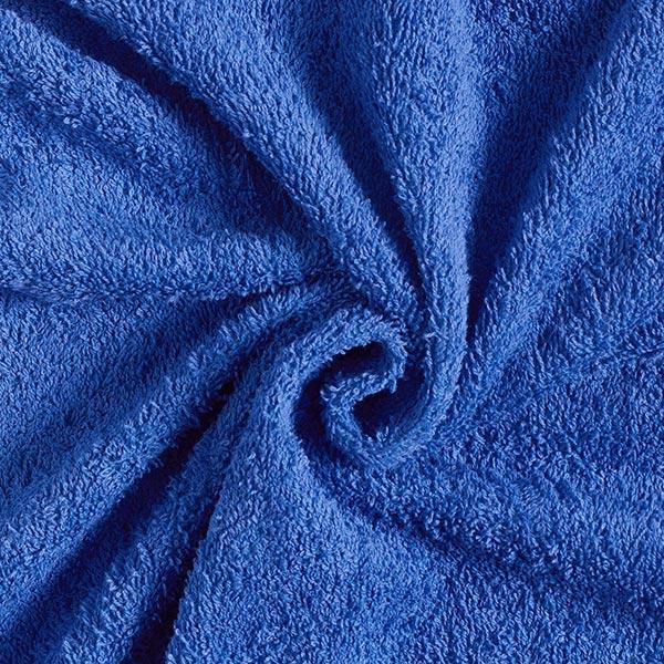 Königsblauer Frottee
