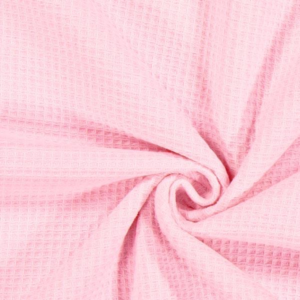 Waffelpiqué in Rosa