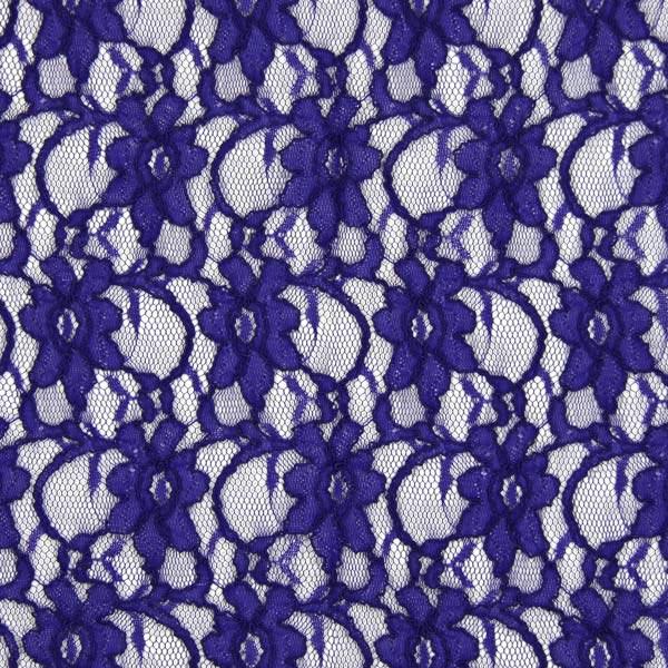 Spitze klassisch - königsblau