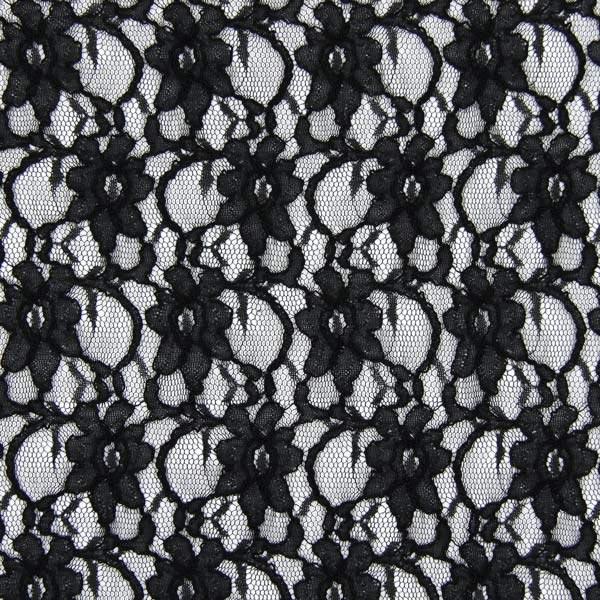 Spitze klassisch - schwarz - Muster