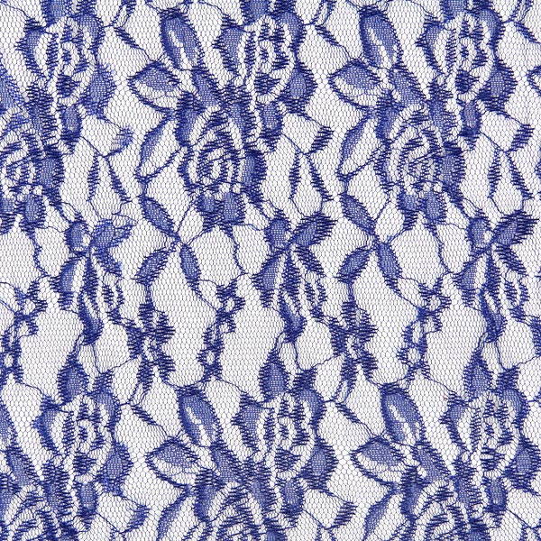 Spitze Leicht - königsblau - Muster