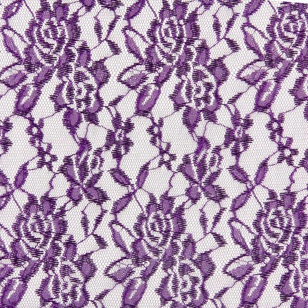 Spitze Leicht - lila - Muster