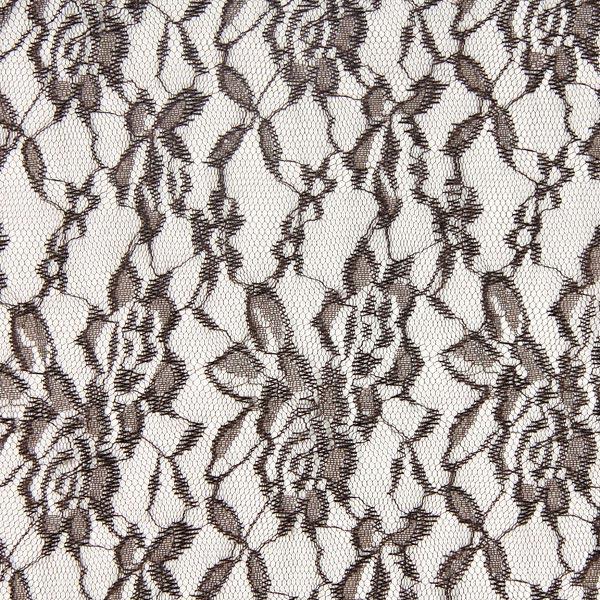 Spitze Leicht - dunkelbraun - Muster