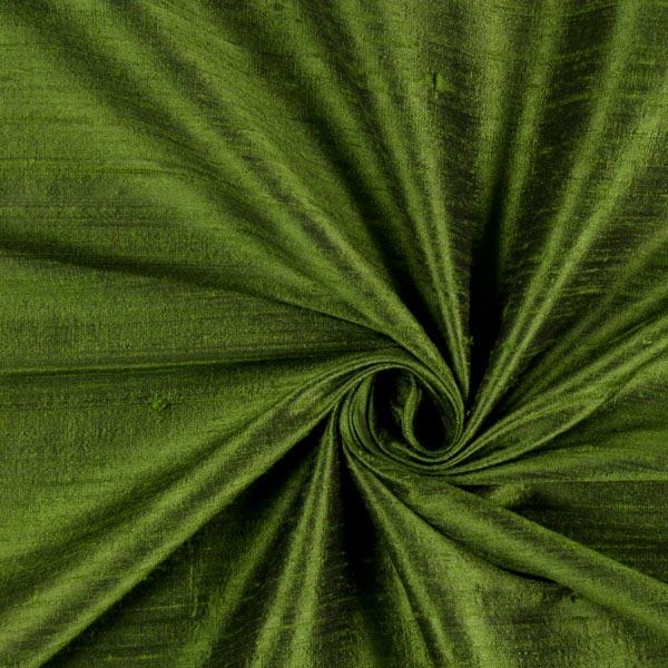 seta dupion verde tessuti in seta. Black Bedroom Furniture Sets. Home Design Ideas