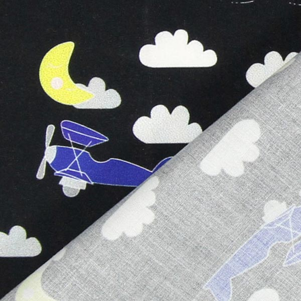 Poplin Biplane Aircraft 1 Children 39 S Clothing Fabricsfavorable Buying At Our Shop