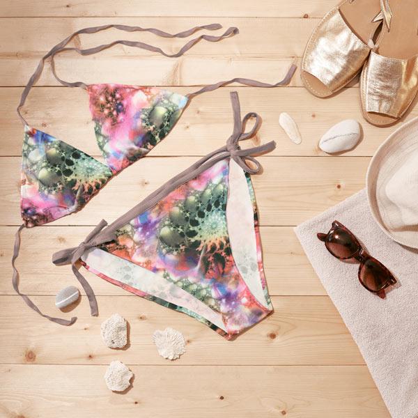 Tessuto per costumi da bagno medusa 1 tessuti per bikini costumi da bagno - Tessuto costumi da bagno ...