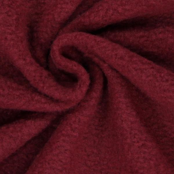 antipilling fleece bordeauxrot fleecestoffe. Black Bedroom Furniture Sets. Home Design Ideas