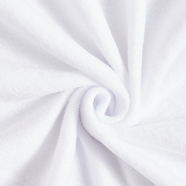 Weißes Antipilling-Fleece