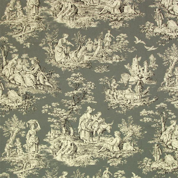 toile fontevraud 2 toile de jouy. Black Bedroom Furniture Sets. Home Design Ideas