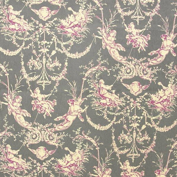 toile montespan 1 toile de jouy. Black Bedroom Furniture Sets. Home Design Ideas