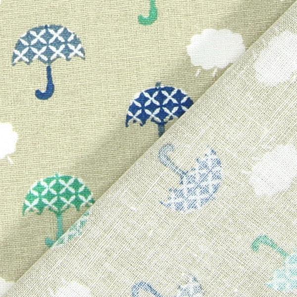 Cretona paraguas 2 beige telas de algod n - Tela de paraguas ...