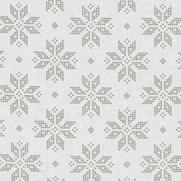 Tela decorativa Panama media Estrella de Navidad brillante ...