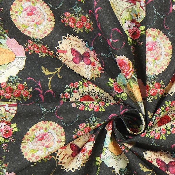 Cretonne poesia mia tessuti per coperte e biancheria da for Cretonne per arredamento e tappezzerie