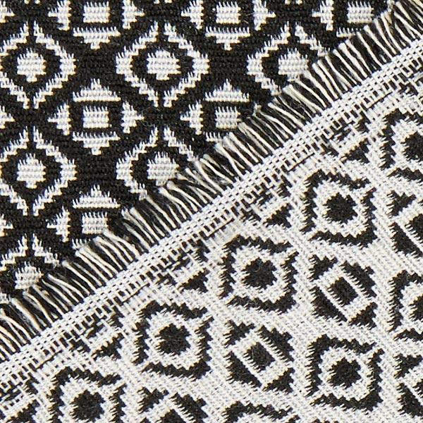 jacquardstoff gobelin rautenmuster schwarz weiss gobelinstoffe. Black Bedroom Furniture Sets. Home Design Ideas
