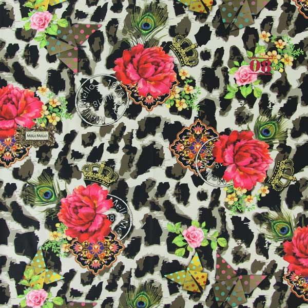 Melli Mello Panter - Farbmix - Muster