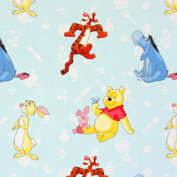 winnie the pooh 8 disney fabricsfavorable buying at our shop. Black Bedroom Furniture Sets. Home Design Ideas