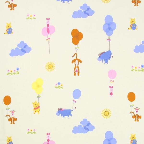 Disney Winnie Puuh Overlap - beige - Disney- stoffe.de